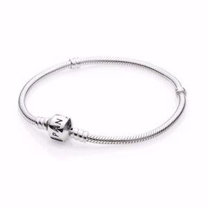 Authentic PANDORA Starter Charm Bracelet
